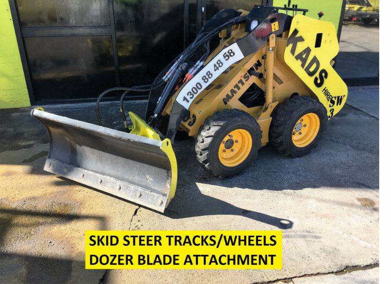 Kads Plant Hire | Skid Steers