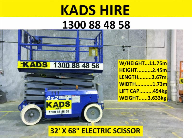 Kads Plant Hire | Scissors